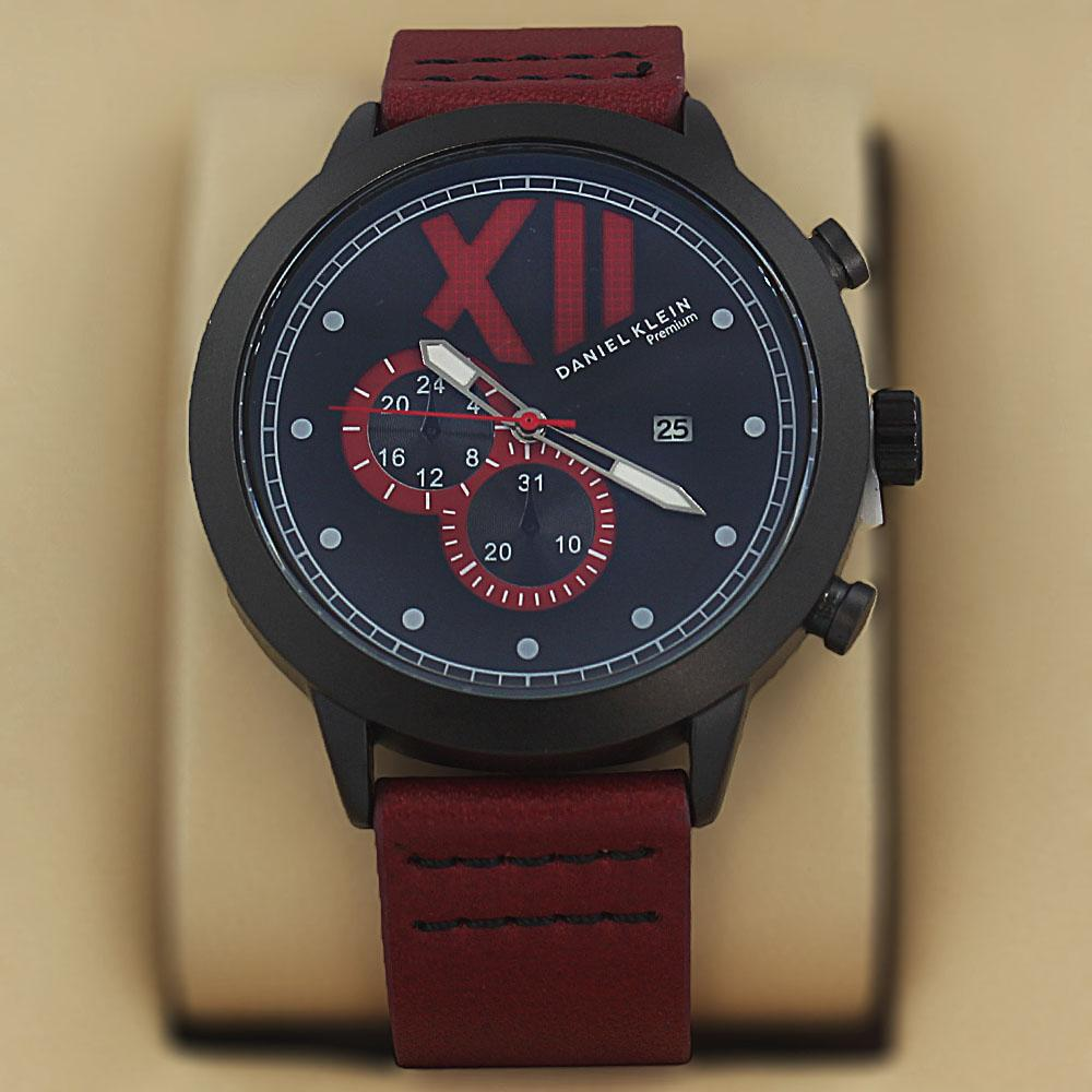 Daniel Klein Fernando Wine Leather Fashion Series Watch?