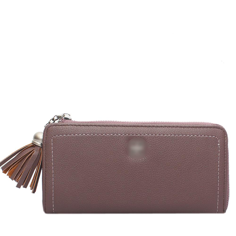 Lilac-Leather-Ladies-Wallet