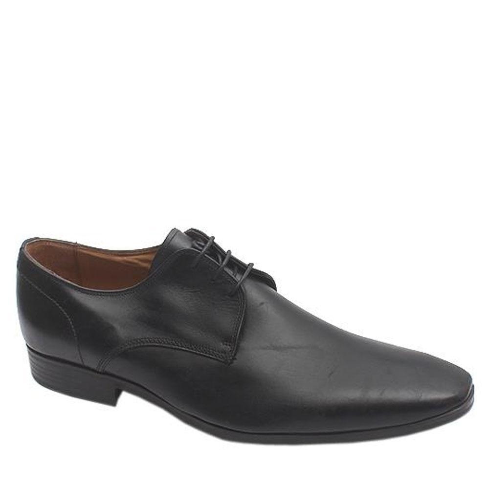 Kurt Geiger Black Leather Men Formal Shoe