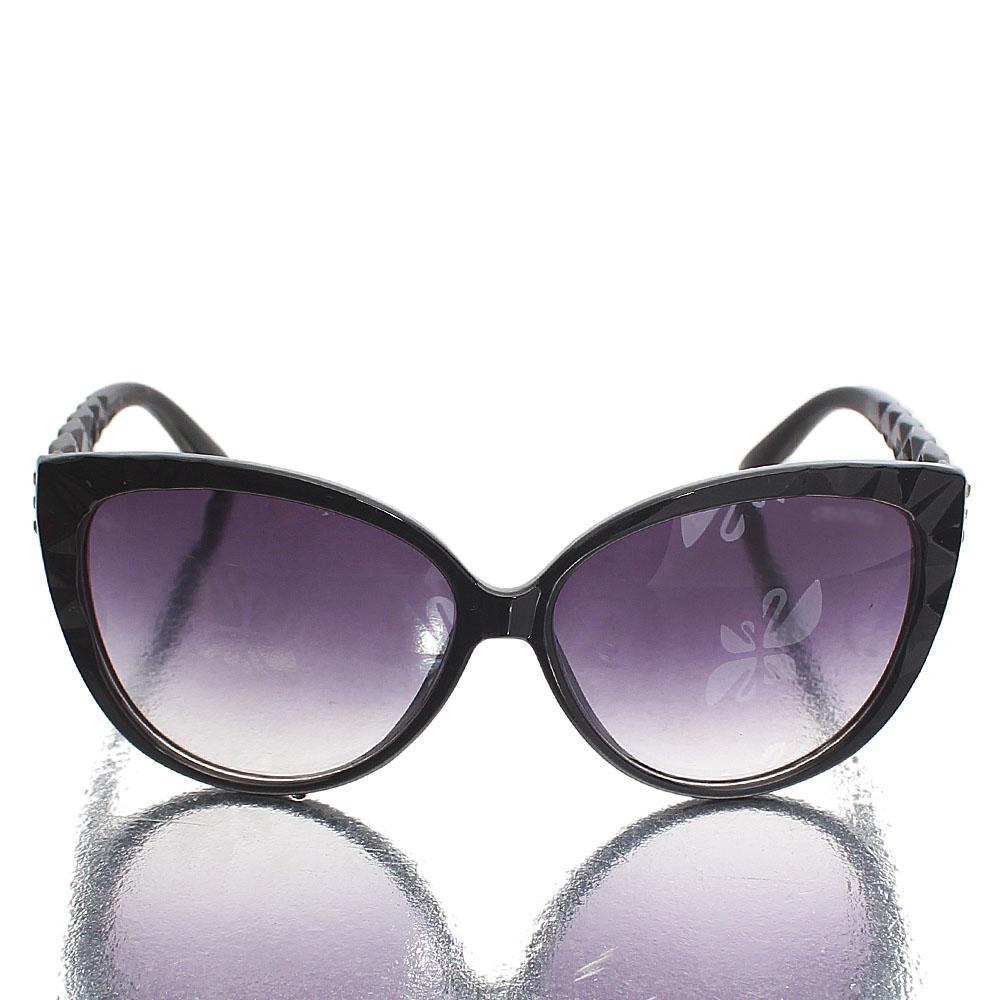 Black Ice Oval Polarized Sunglasses