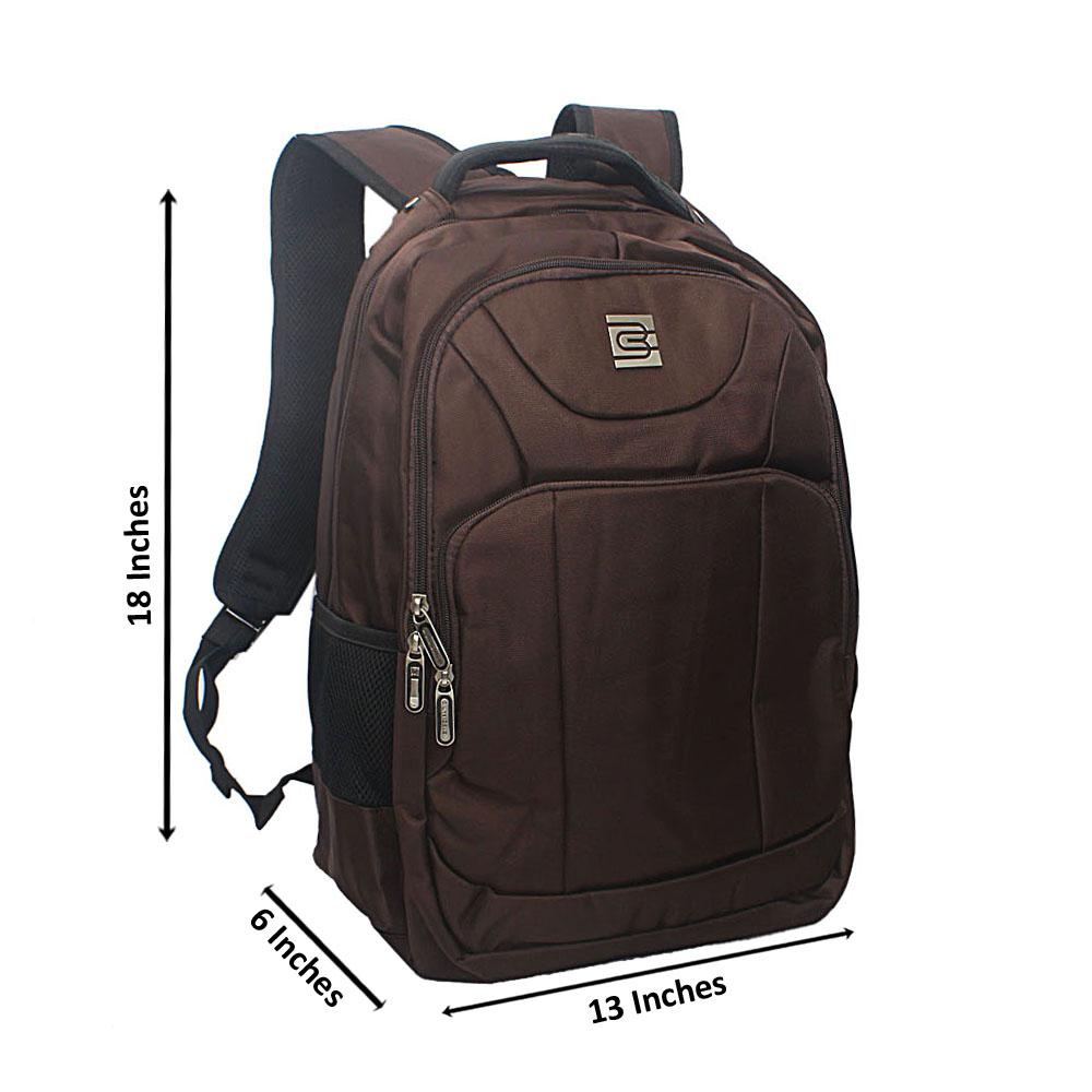 Coffee Multi Zip Bruno Cavali Backpack
