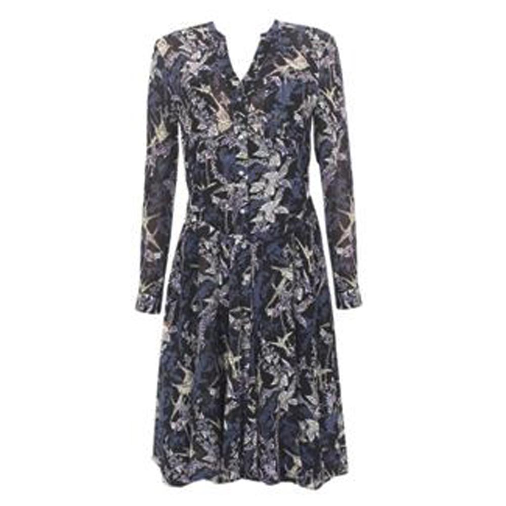 Peruna Multicolor L/Sleeve Ladies Dress