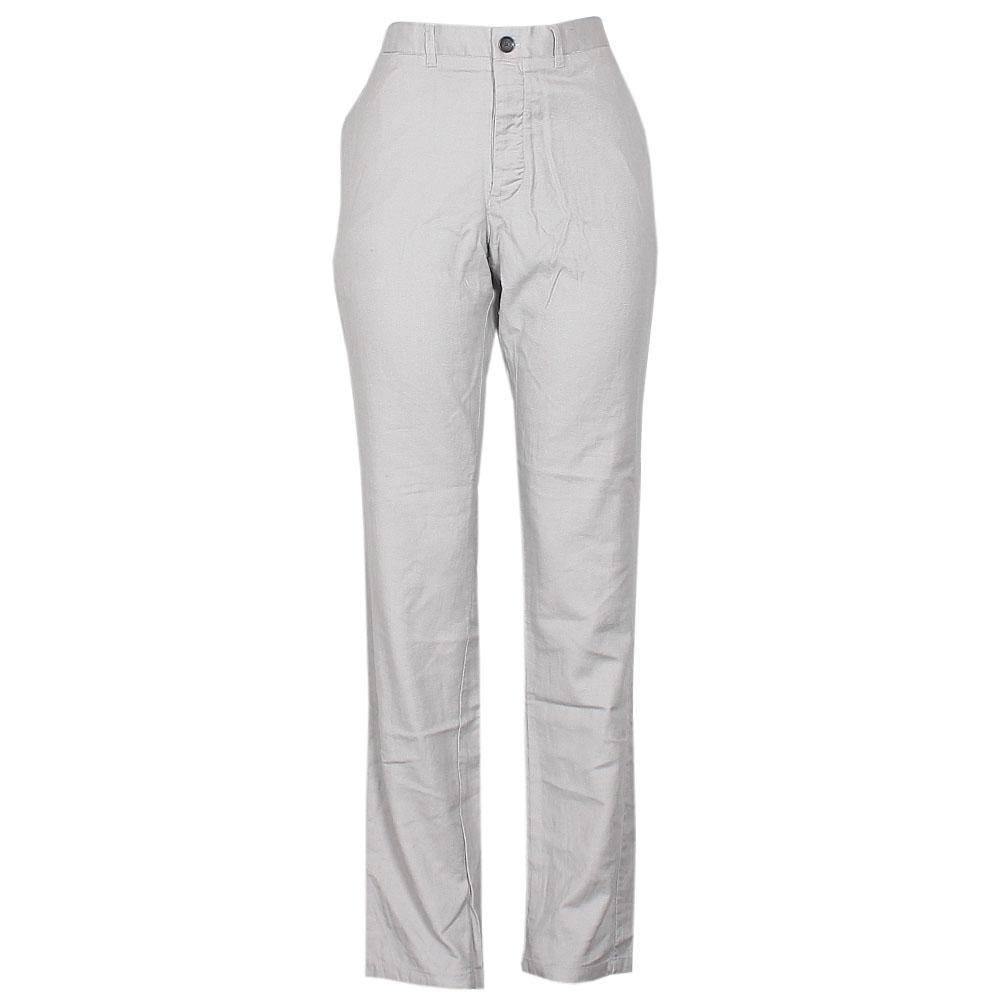 Purveyors Grey Cotton Ladies Trouser-W36, L42