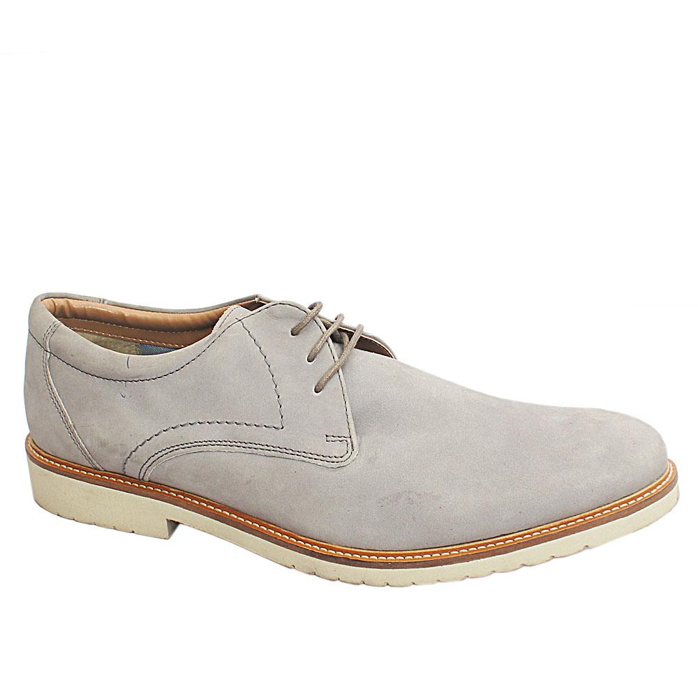 M&S Collection Gray Suede Leather Men Shoe (Slightly Faded)