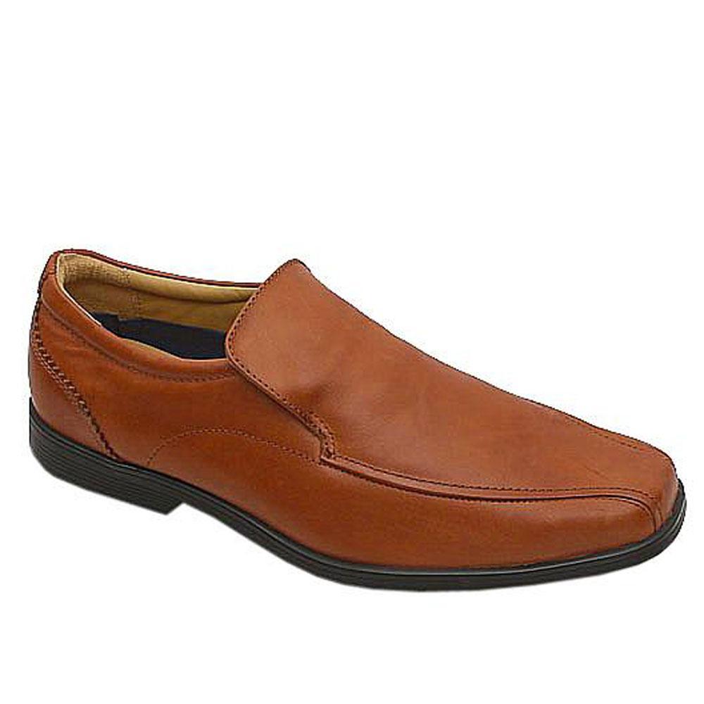 Marks & Spencer Airflex Brown Leather Men Shoe-41