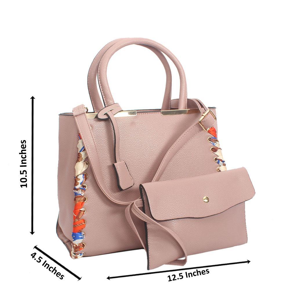 Beige Tuscany Leather Tote Handbag