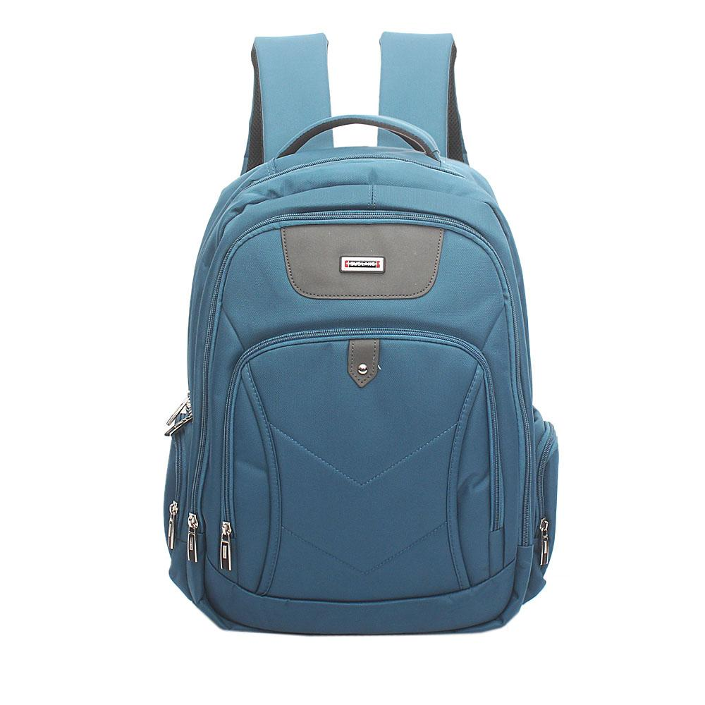 Duslang Mint Green Fabric Laptop Backpack