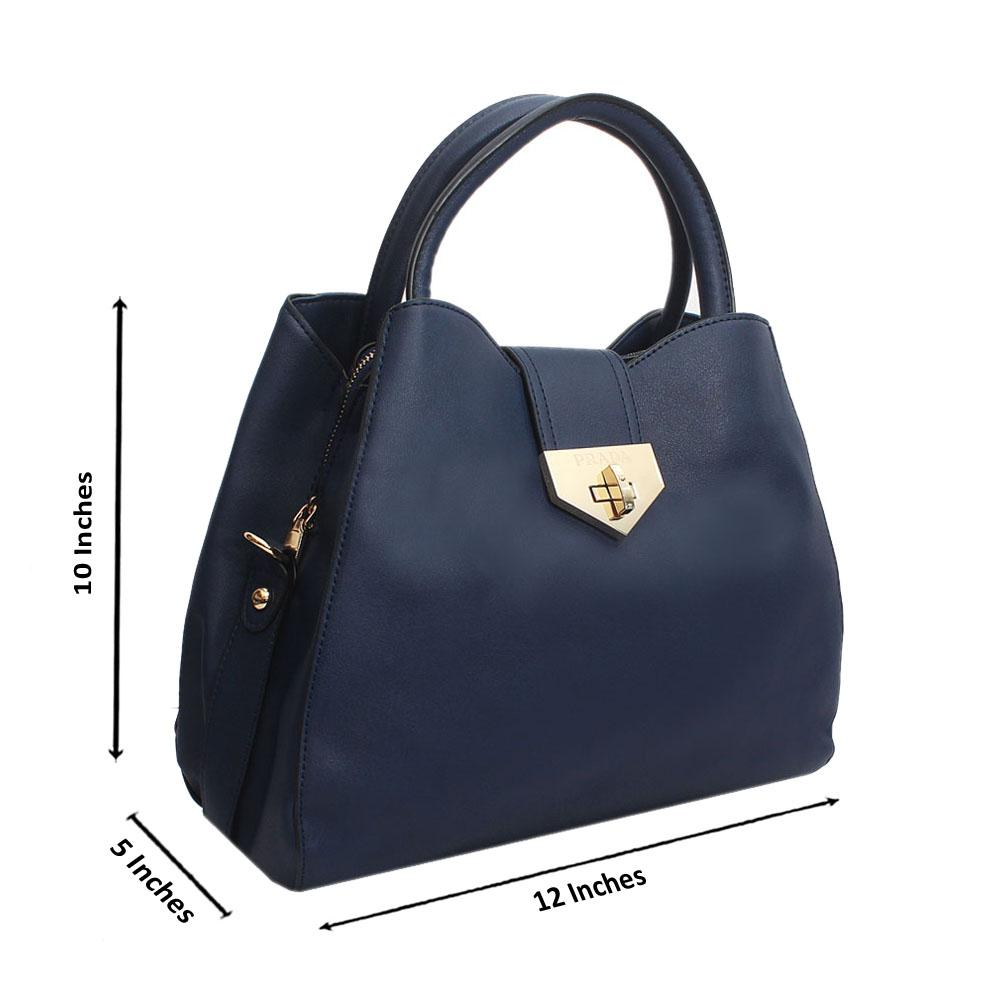 Navy-Leather-Medium-Farrah-Handbag