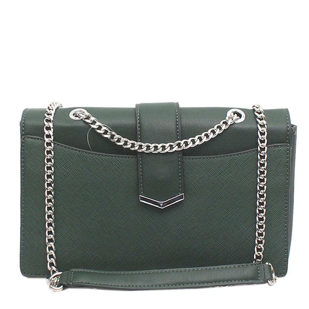 Green Leather Small Cross Body Bag
