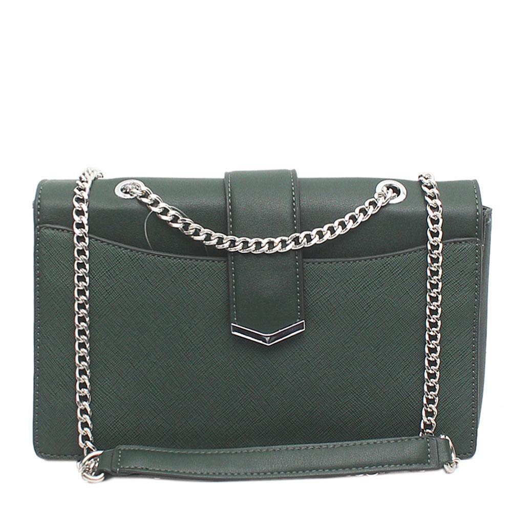 Pedro Green Leather Small Cross Body Bag