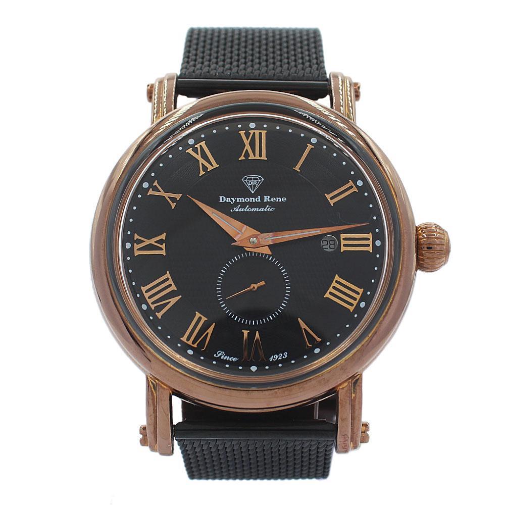 DR 3ATM Bronze Black Mesh Automatic Watch