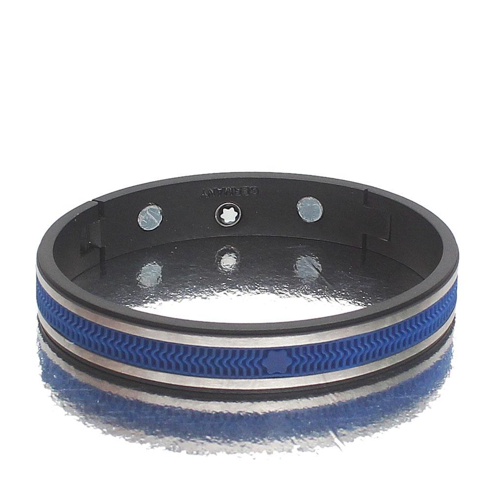 Mont Blanc Blue Black Bracelet