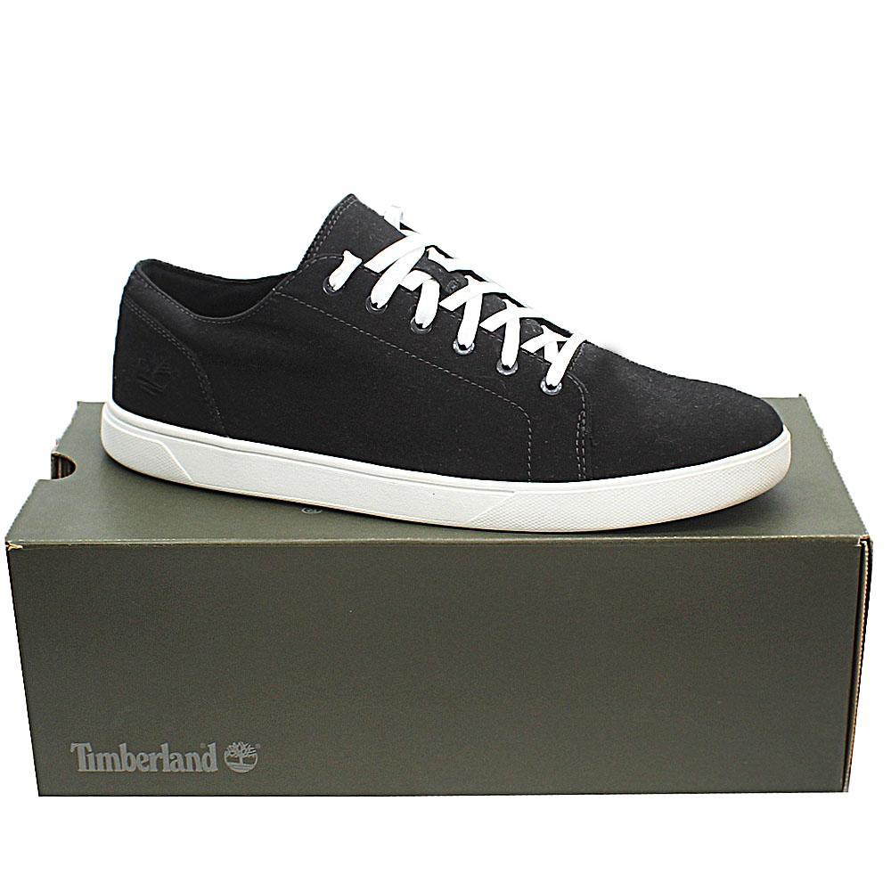 Timberland Black White Fabric Bayham Ox Men Sneakers