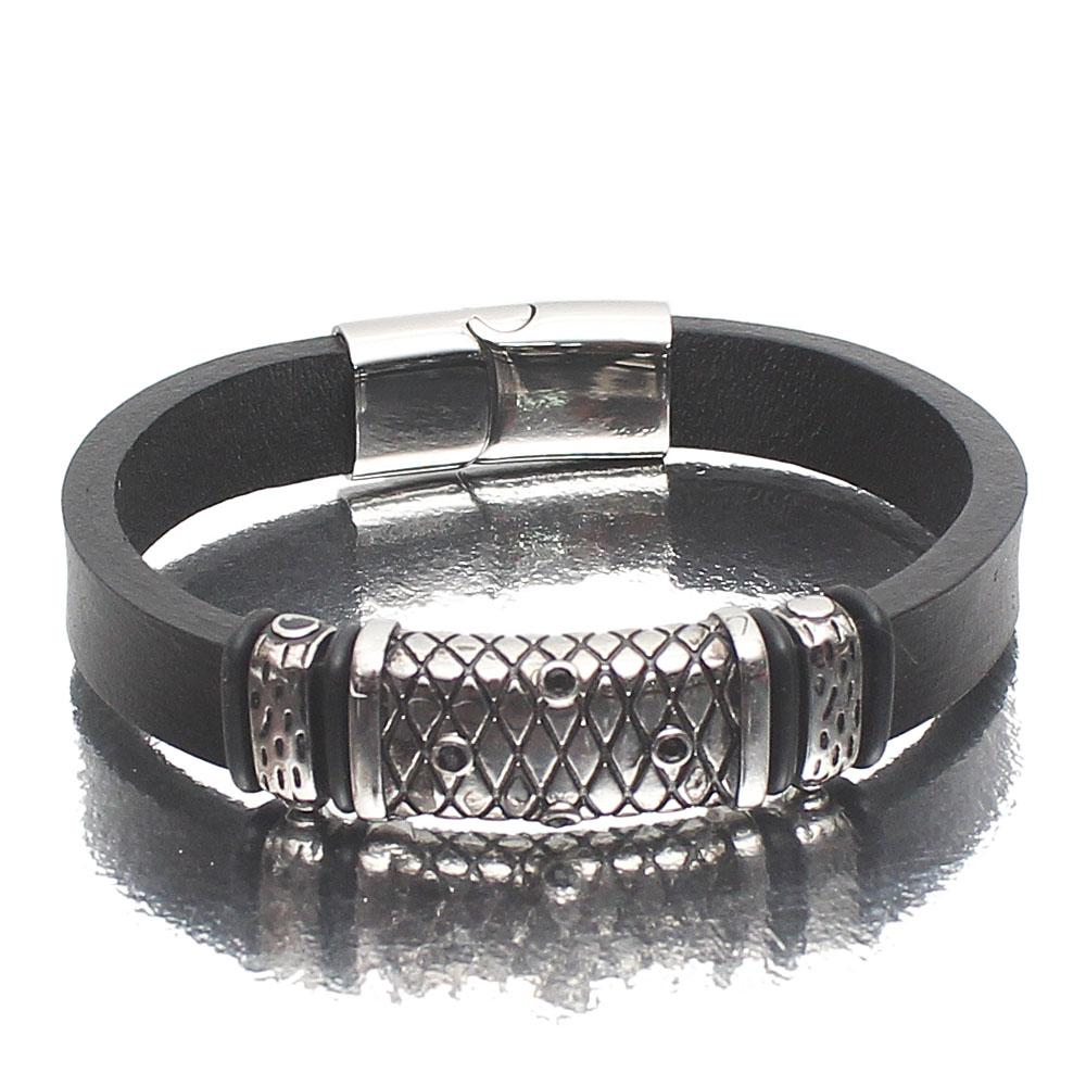 Tudor Sliver Leather Bracelet