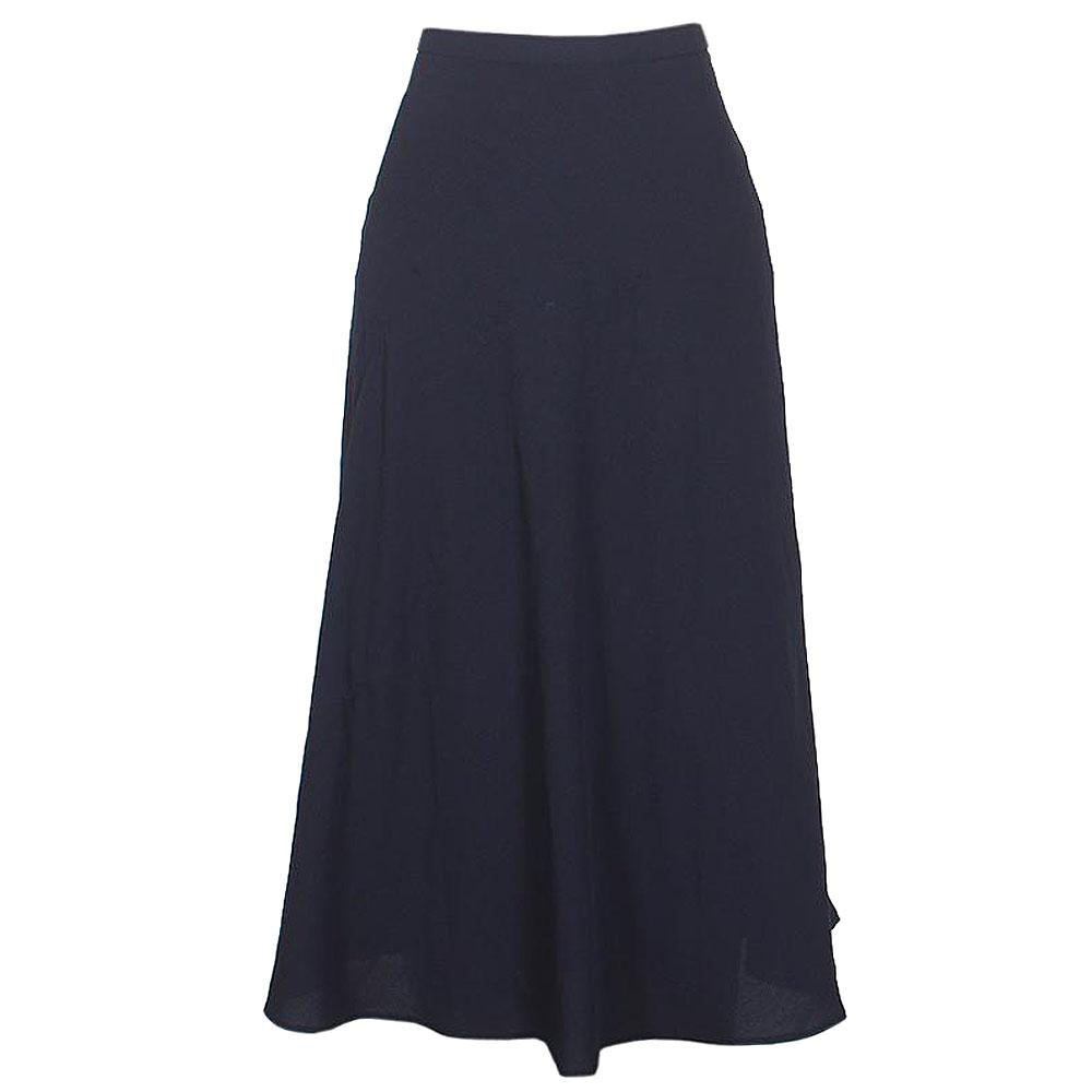 M&S Navy Cotton Ladies Skirt