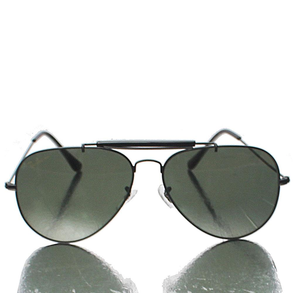 Black Aviator Pro Dark Lens Sunglasses