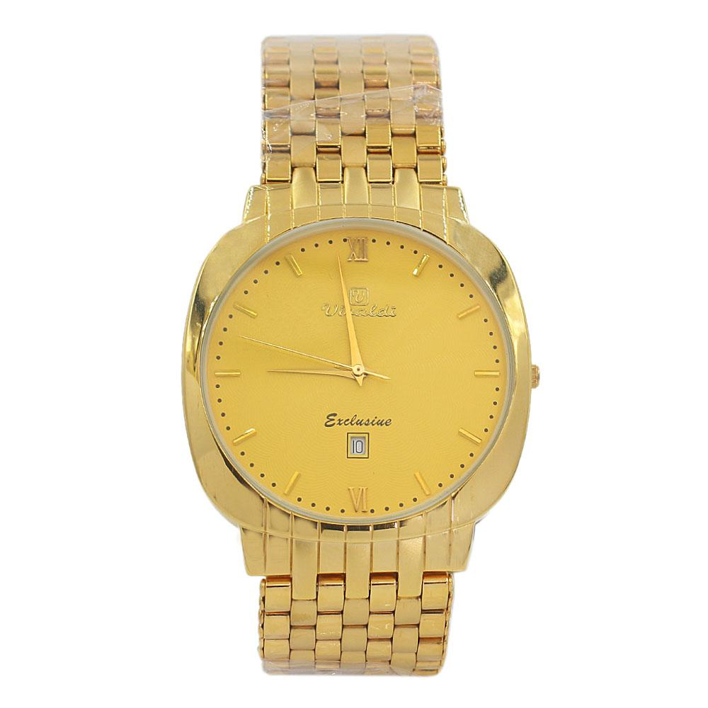 Gold Troy Stainless Steel Fashion Watch