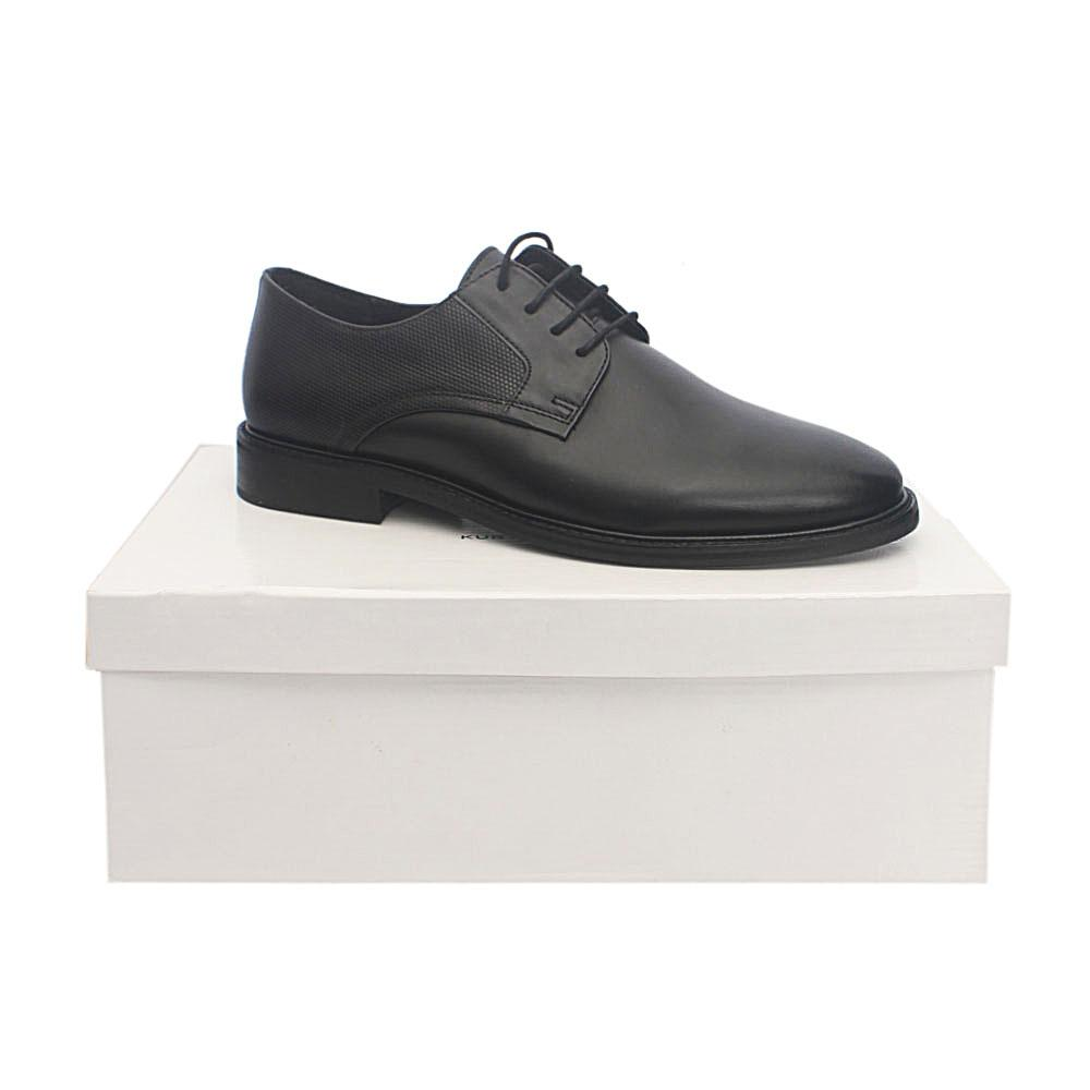 Kurt Geiger Tamworth Black Premium Leather Shoe