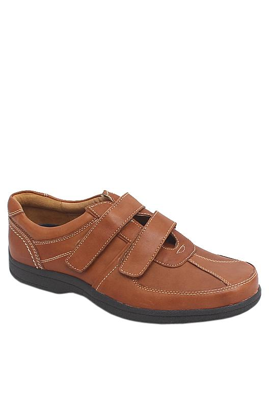 M & S Airflex Brown Leather Men Shoe