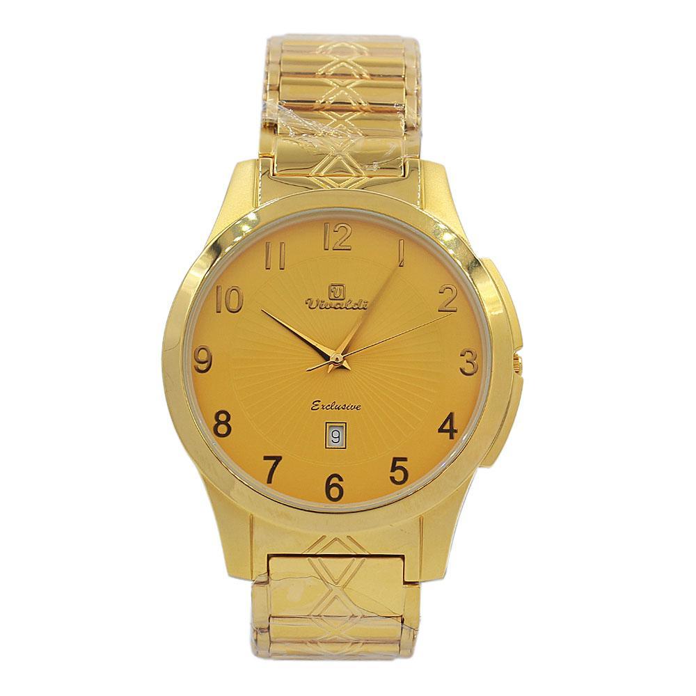 Gold Aurelio Stainless Steel Fashion Watch