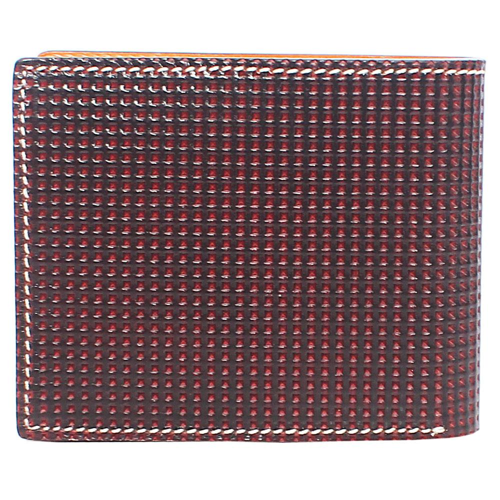 Brown-Dotted-Leather-Wallet