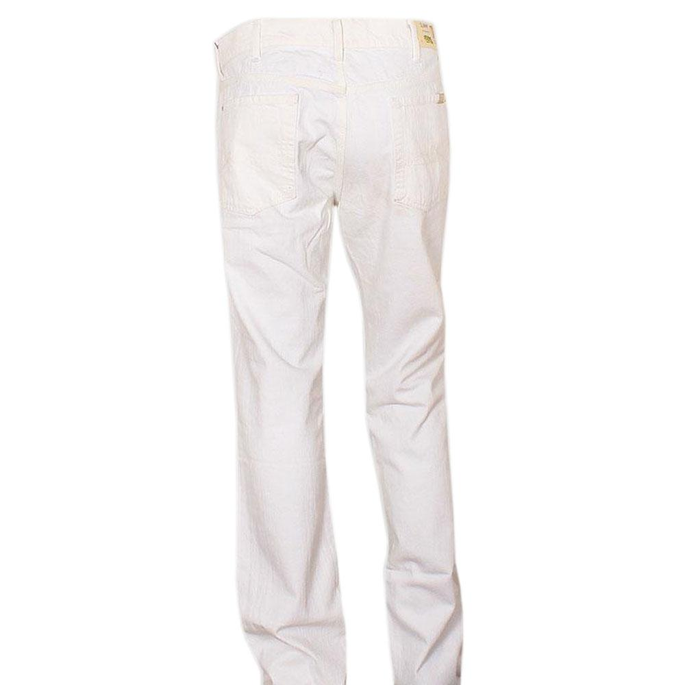 Slimmy White Men Jeans