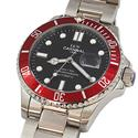 Shanghai Sport GP Silver Red Stainless Steel Automatic Watch