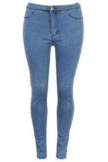 Blue Ladies Stretchy Jeans