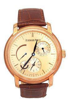 Audemars Piguet Brown Leather Men Automatic Watch