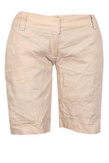 Petite Beige Cotton Ladies Short