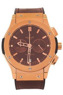 Hublot Vendome Brown Rubber Men Automatic Watch