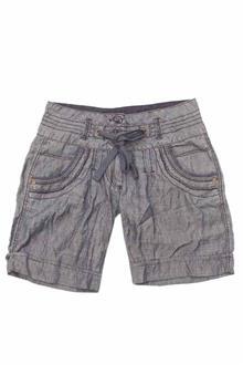 Next Gray Cotton Ladies Short