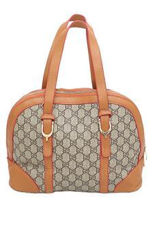 Fashion Gray Brown Ladies Small Handbag
