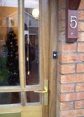 70mm Handle Hoppe  Munster Joinery Door