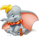 Dumbo colouring pages