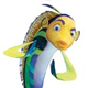 Shark Tale colouring pages