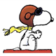 Snoopy colouring pages