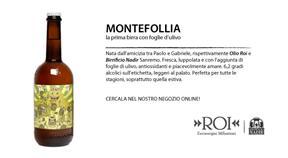 Montefollia, la prima birra con foglie d'ulivo!