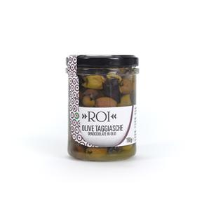 De-stoned Taggiasca Olives 180gr. jar