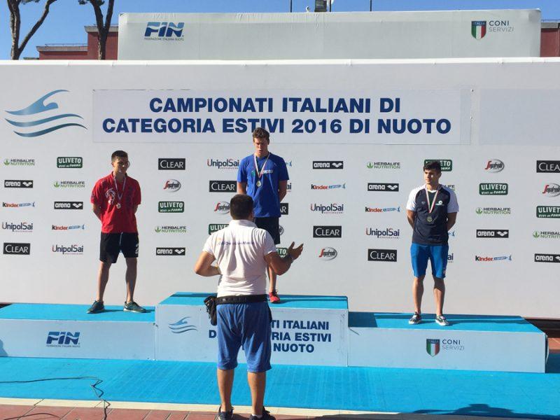Nuovo, Campionati Nazionali: Hantjoglu conquista il bronzo