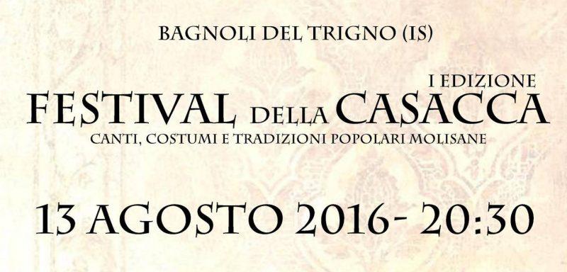 """Questa sera a Bagnoli il """"Festival della Casacca"""""""