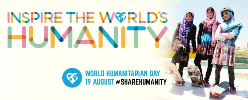 INIZIATIVE – 19 agosto, la Giornata di chi rischia per aiutare gli altri