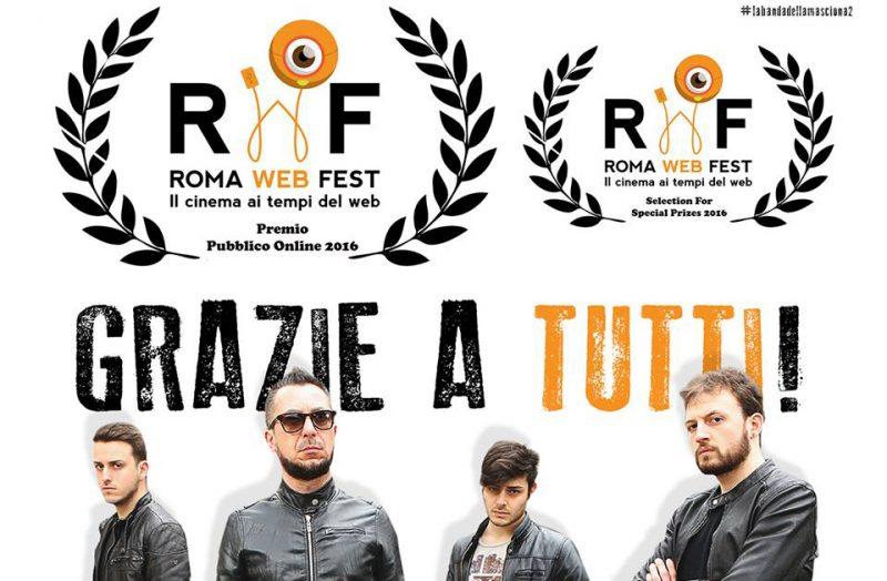 La Banda ha vinto il premio del pubblico al Roma Web Fest 2016