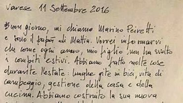 """La lettera di un papà contro i compiti per le vacanze: """"Ho tre mesi per insegnargli a vivere"""""""