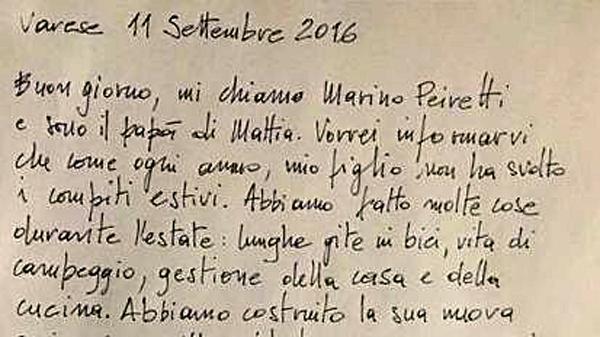 """La lettera di un pap? contro i compiti per le vacanze: """"Ho tre mesi per insegnargli a vivere"""""""