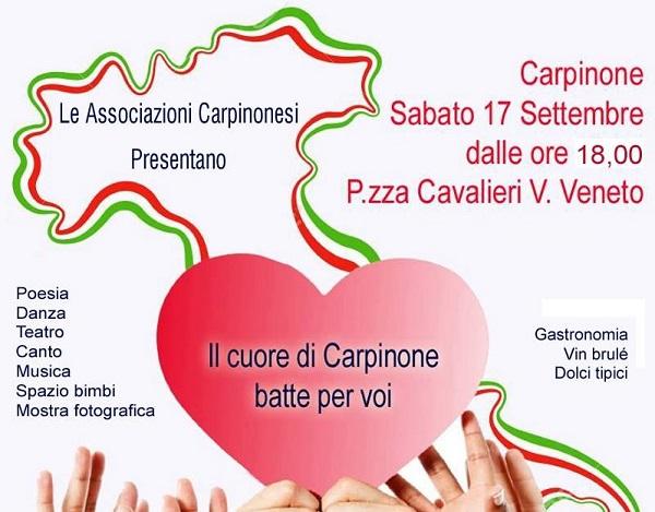 SOLIDARIETA? – Sisma centro Italia, raccolta fondi a Carpinone
