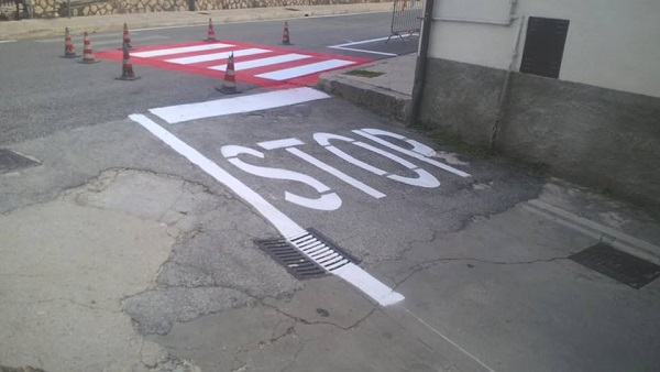 Colli a Volturno, realizzata la nuova segnaletica stradale