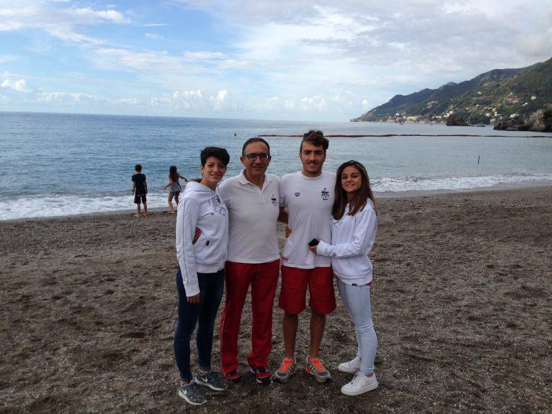 Nuoto. H2O sport, la stagione in acque libere si chiude con grandi risultati a Salerno