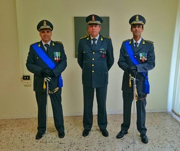 Guardia di Finanza, Stoico nuovo comandante della Polizia Tributaria di Isernia