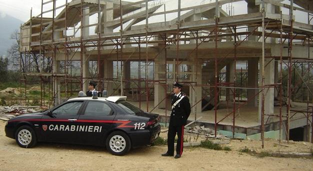 Abusivismo edilizio, una denuncia a Colli a Volturno